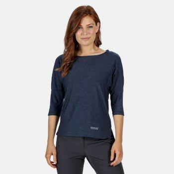 Women's Pulser 3/4 Sleeve T-Shirt Dark Denim