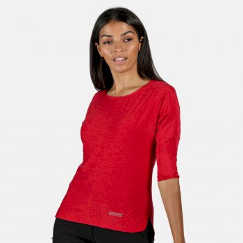 Women's Pulser 3/4 Sleeve T-Shirt Dark Cerise