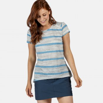 Women's Limonite IV Lightweight T-Shirt Blue Aster