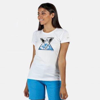Women's Fingal V Graphic T-Shirt White