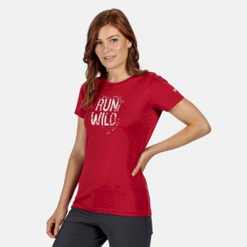 Women's Fingal V Graphic T-Shirt Dark Cerise
