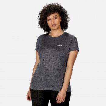 Regatta Women/'s Sinton Coolweave Polo Shirt Blue