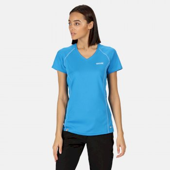 Women's Devote Active T-Shirt Blue Aster