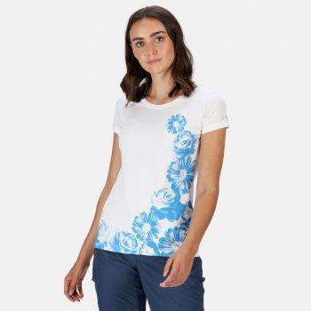 Women's Breezed Graphic T-Shirt White