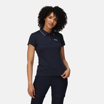 Women's Maverick V Active Polo Shirt Navy