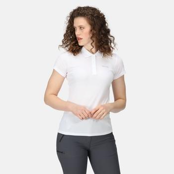 Women's Maverick V Active Polo Shirt White