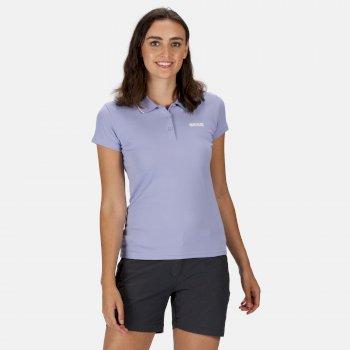 Women's Maverick V Active Polo Shirt Lilac Bloom