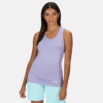 Women's Varey Active Vest Lilac Bloom