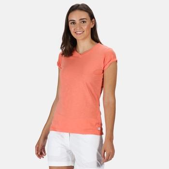 Damska koszulka Fyadora koralowa