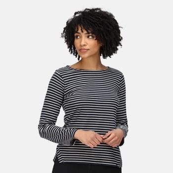 Women's Fernanda Striped T-Shirt Navy Light Vanilla