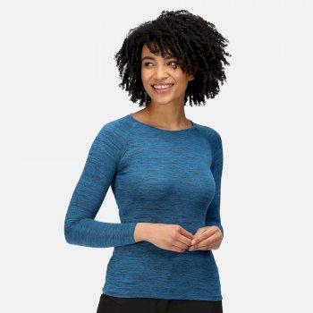 Women's Burlow Marl T-Shirt Blue Sapphire