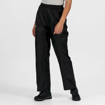 Women's Pack It Waterproof Overtrousers Black