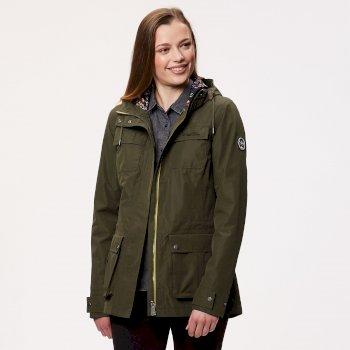 Nerine Lightweight Waterproof Jacket Ivy Green