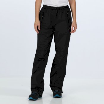 Women's Amelie III Waterproof Overtrousers Black