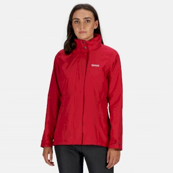 Women's Daysha Waterproof Jacket Dark Cerise