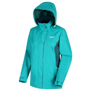 Women's Daysha Lightweight Waterproof Jacket Shoreline Blue Deep Teal