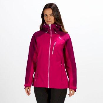 Women's Birchdale Waterproof Jacket Dark Cerise Beetroot