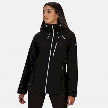 Kimberley Walsh Birchdale Waterproof Hooded Walking Jacket Black White