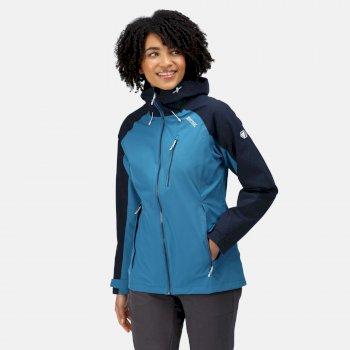 Women's Birchdale Waterproof Jacket Blue Sapphire Navy