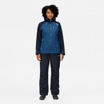 Women's Birchdale Waterproof Hooded Walking Jacket Blue Opal Navy