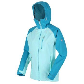 Women's Birchdale Waterproof Jacket Cool Aqua Turquoise