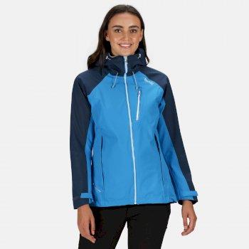 Women's Birchdale Waterproof Jacket Blue Aster Dark Denim