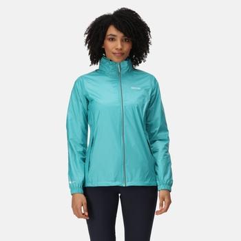 Women's Corinne IV Waterproof Packaway Jacket Turquoise