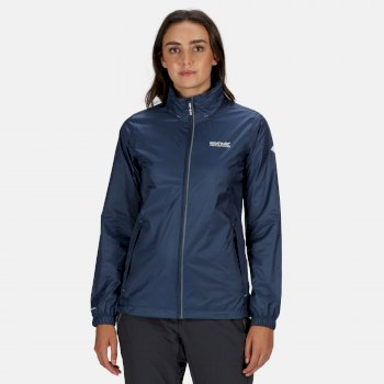 Women's Corinne IV Waterproof Packaway Jacket Dark Denim