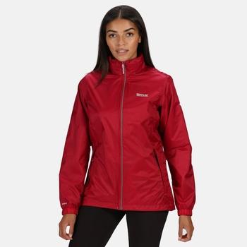 Women's Corinne IV Waterproof Packaway Jacket Dark Cerise