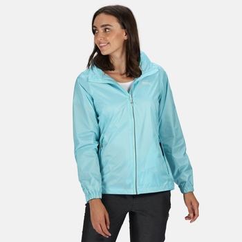 Women's Corinne IV Waterproof Packaway Jacket Cool Aqua