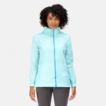 Women's Pack-It III Waterproof Jacket Cool Aqua