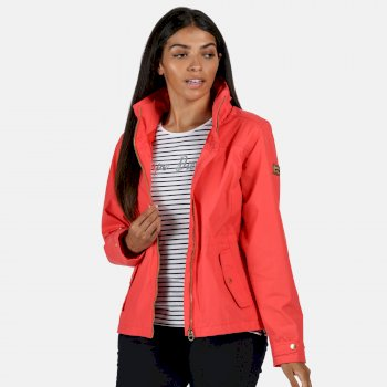 Women's Laurenza Lightweight Waterproof Jacket Red Sky