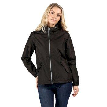 Damska kurtka przeciwdeszczowa Lilibeth czarna