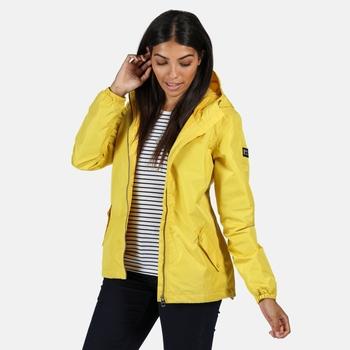 Women's Lilibeth Lightweight Waterproof Jacket Yellow Sulphur