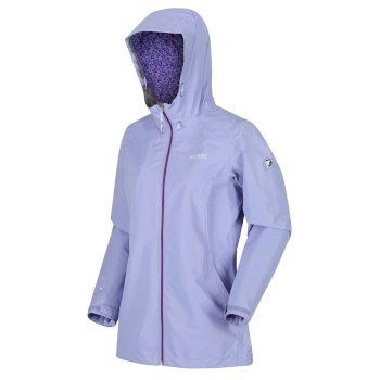 Women's Hamara III Lightweight Waterproof Hooded Walking Jacket Lilac Bloom
