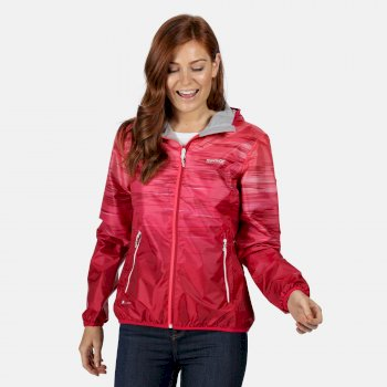 Women's Leera IV Lightweight Waterproof Hooded Walking Jacket Neon Pink