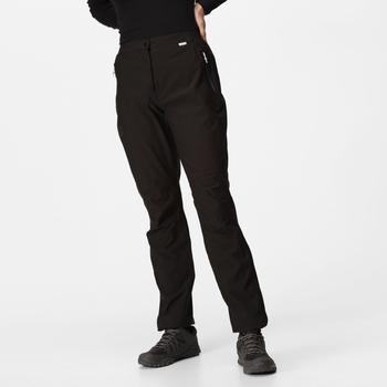 Women's Highton Waterproof Overtrousers Black