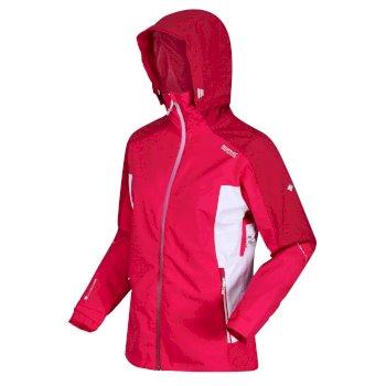 Women's Oklahoma VI Waterproof Hooded Walking Jacket Duchess Dark Cerise