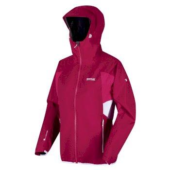 Women's Imber IV Lightweight Waterproof Hooded Walking Jacket Dark Cerise Duchess