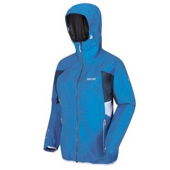 Damska kurtka przeciwdeszczowa Imber IV niebieska