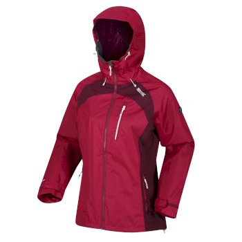 Women's Highton Stretch II Waterproof Jacket Beetroot Fig