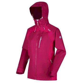 Women's Highton Stretch II Waterproof Jacket Dark Cerise Duchess