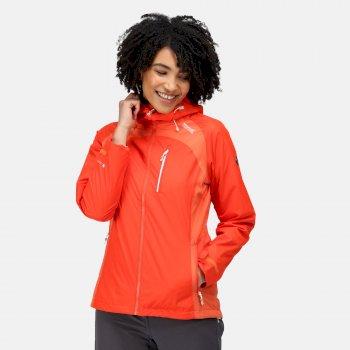 Women's Highton Stretch II Waterproof Jacket Cajun Orange Tigerlilly Orange