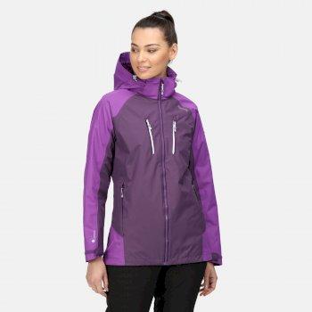 Women's Calderdale IV Waterproof Jacket Dark Aubergine Purple Sapphire