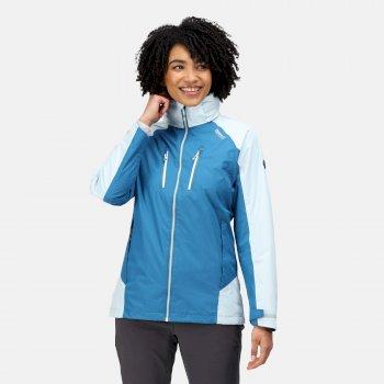 Damska kurtka przeciwdeszczowa Calderdale IV niebieska