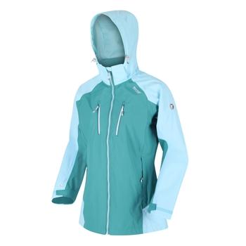 Women's Calderdale IV Waterproof Jacket Turquoise Cool Aqua