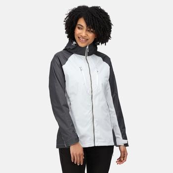 Women's Calderdale IV Waterproof Jacket Cyberspace Seal Grey