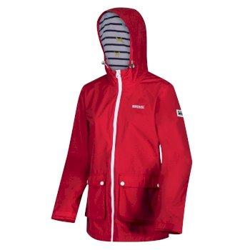 Women's Baysea Waterproof Hooded Jacket True Red