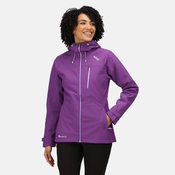 Women's Britedale Waterproof Jacket Plum Jam