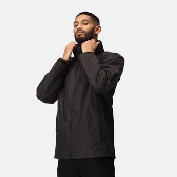 Men's Classic Waterproof 3 in 1 Jacket Black